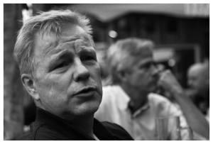 photo by Daniel Eliasson (with my camera) at Restaurant Freischwimmer in Berlin