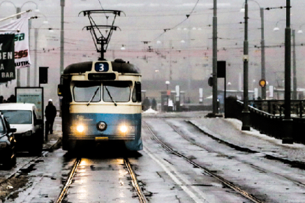 """""""Approaching tram"""""""