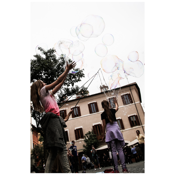 Kids and bubbles 2
