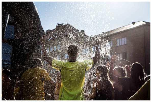 """""""Fountain happy winner"""""""