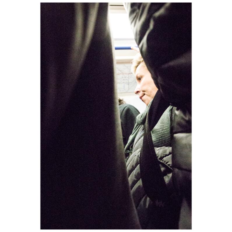 Tube, crowded